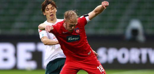 Bundesliga-Relegation: Werder Bremen spielt torlos gegen den 1. FC Heidenheim