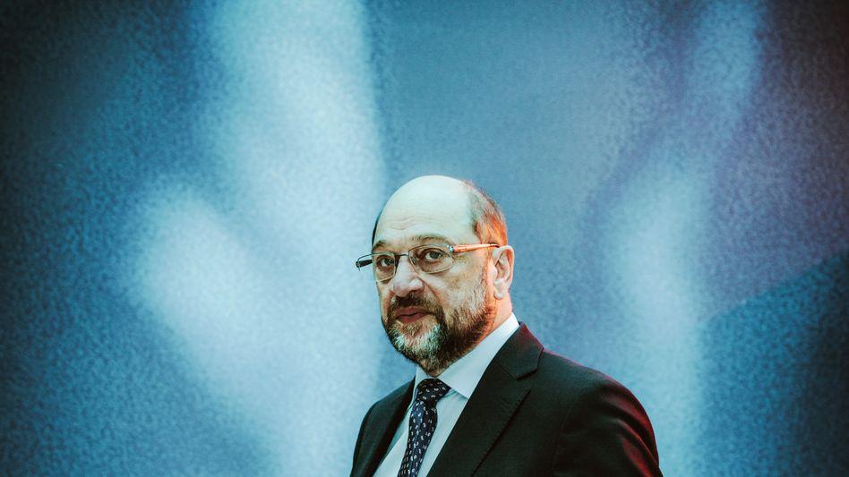 """Sozialdemokrat Schulz: """"Wir haben nun alle Wallungen hinter uns"""""""