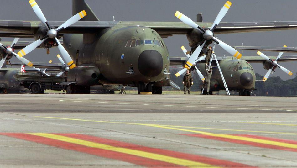 Transall-Maschine der Bundeswehr (Archiv): Unterstützung für Mali-Intervention