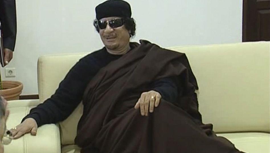 Libyens Machthaber Gaddafi: Olympia-Eintrittskarten für den Clan des Diktators