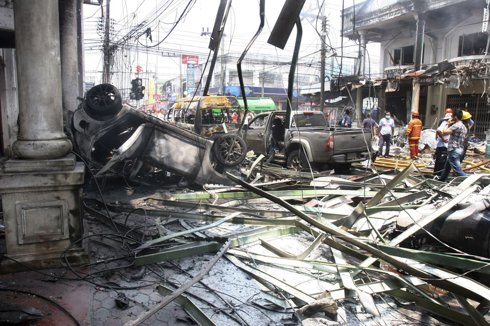 Thailand Southern Violence