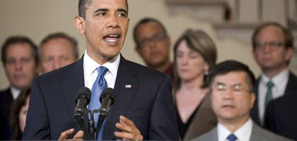 US-Präsident Obama: GM auf die Beine helfen und schnell wieder zurückziehen