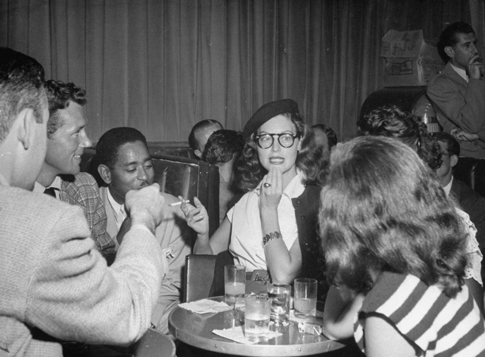 Howard Duff;Ava Gardner;Dizzy Gillespie;Dizzy Gillespie [Misc.]