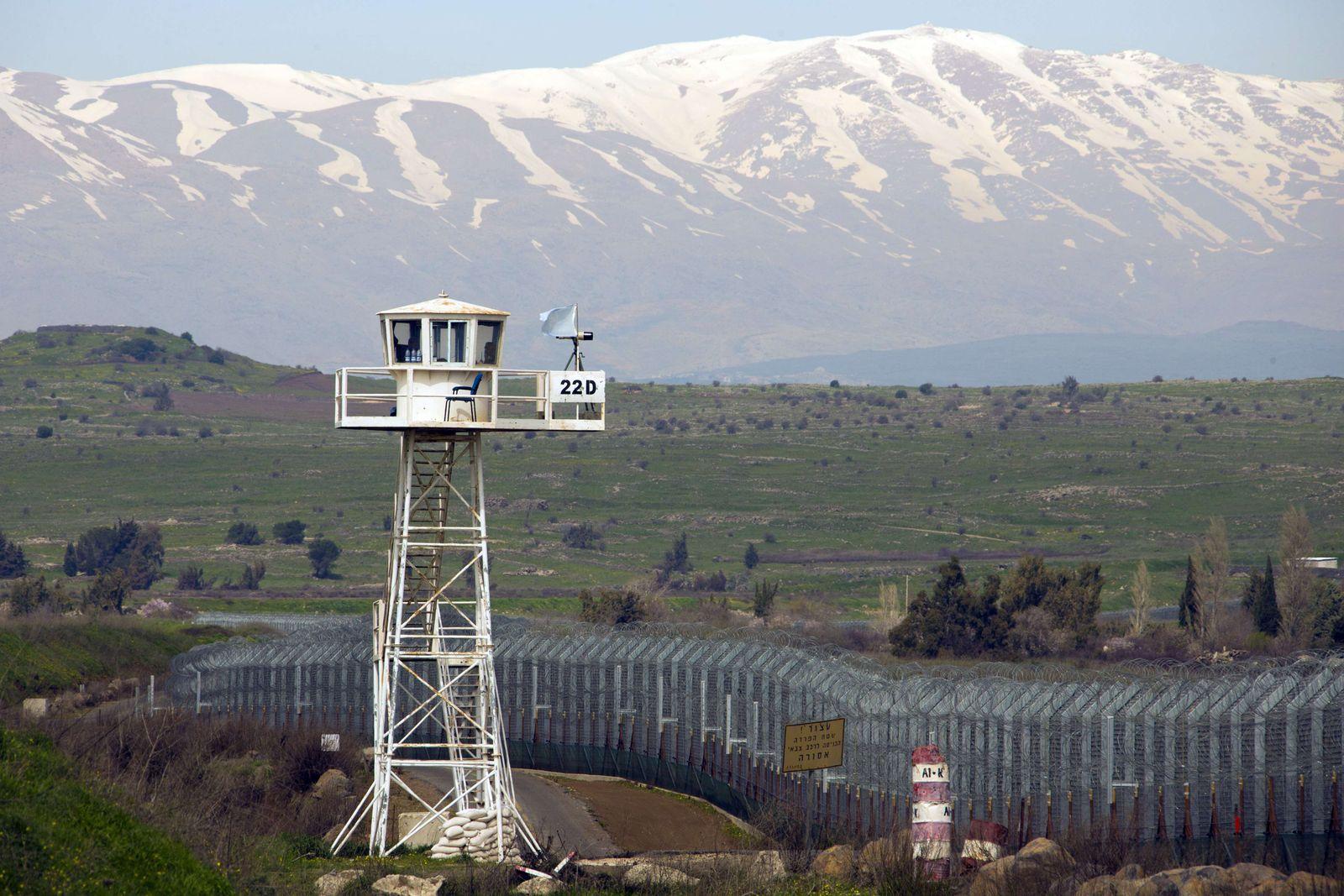 Undof/Syrien/Israel