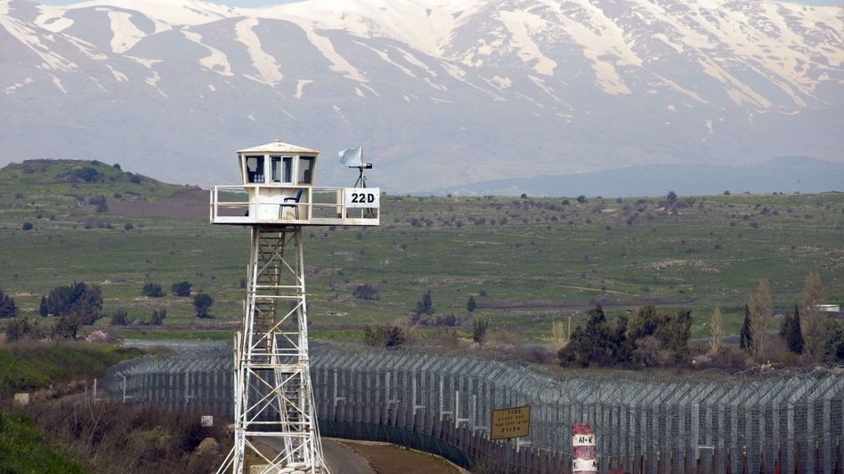 Uno-Posten zwischen Syrien und Israel: Nur leicht bewaffnete Blauhelmsoldaten