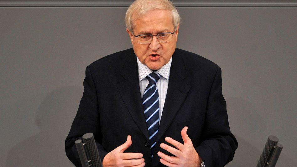 Wirtschaftsminister Brüderle: Vielleicht macht die neue Regierung treffsichere Prognosen