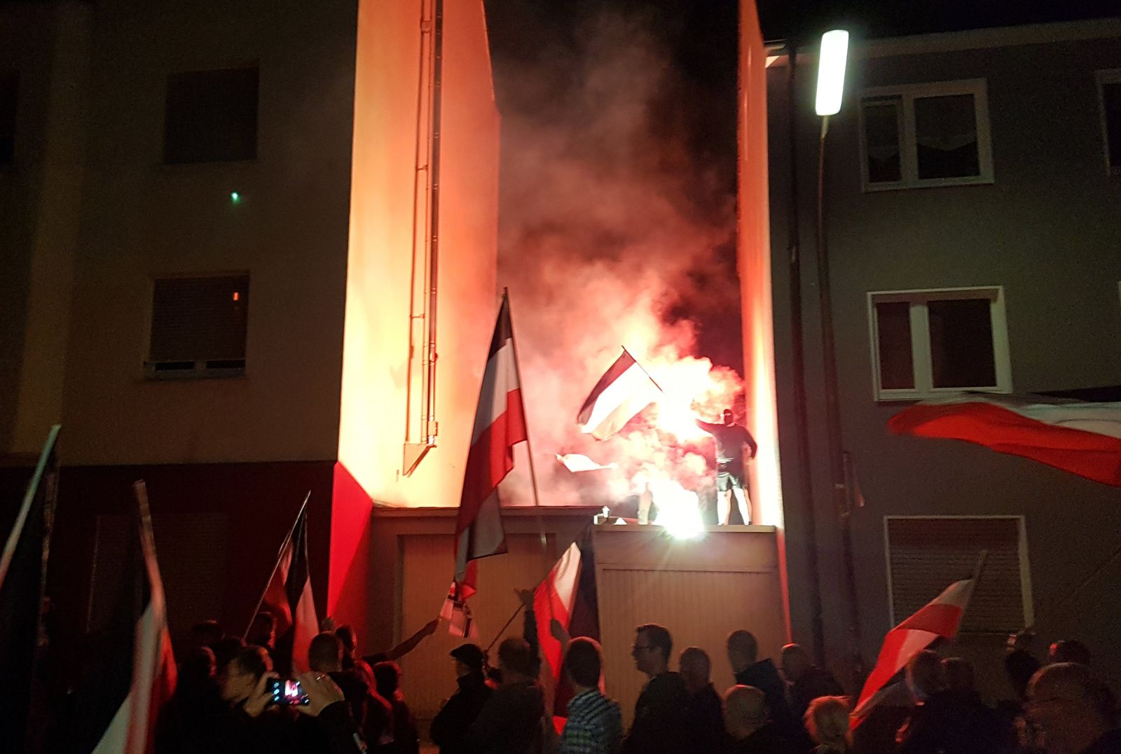 Rechtsextreme demonstrieren in Dortmund