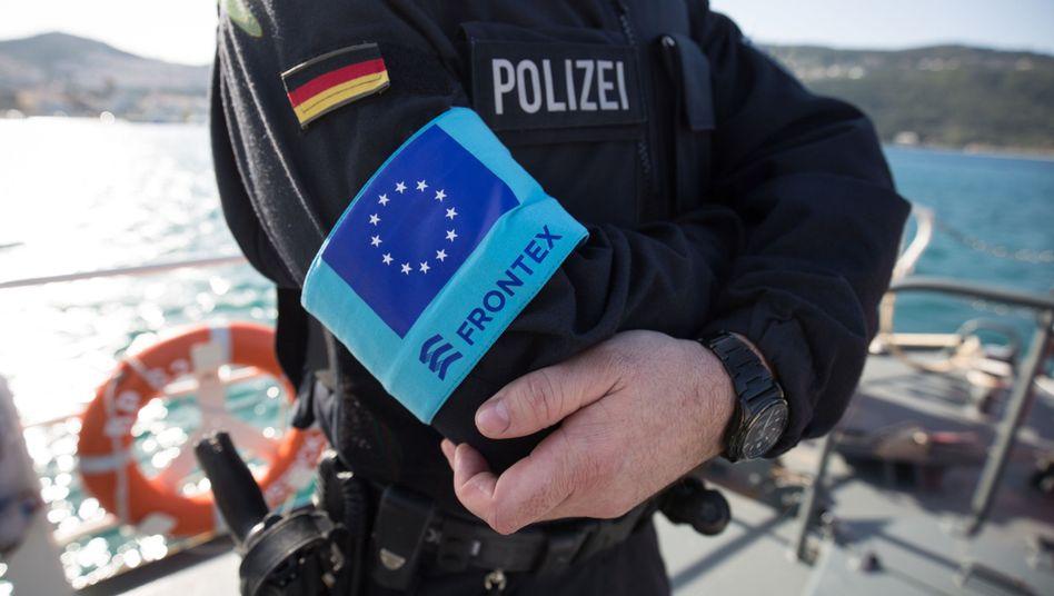 Deutscher Frontex-Polizist in Griechenland