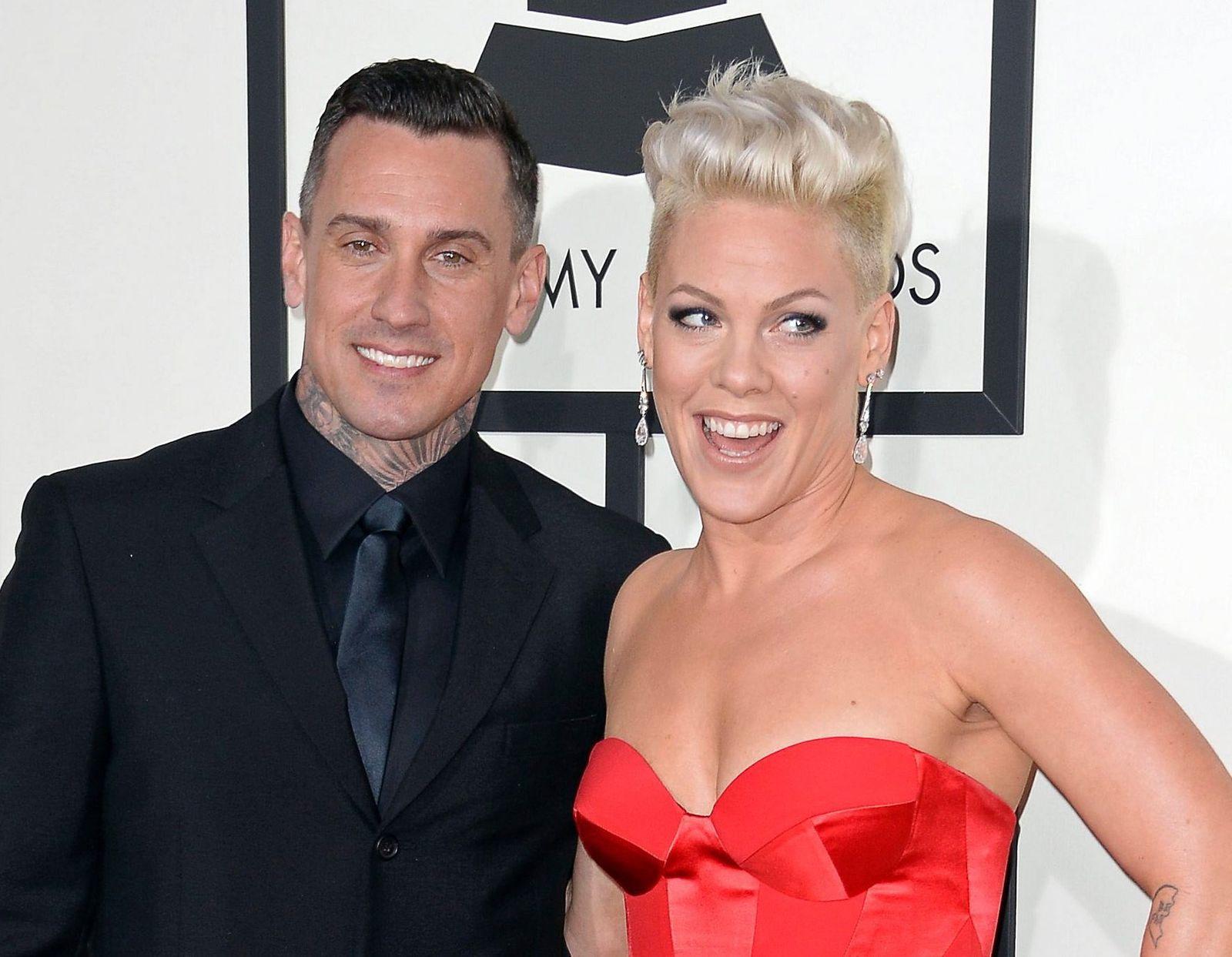 Sängerin Pink und Ehemann Carey Hart