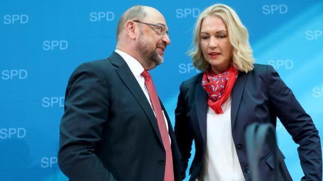 Martin Schulz und Manuela Schwesig