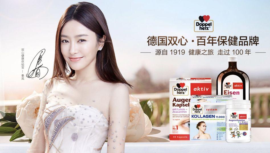 Doppelherz-Produkte auf der Webseite des Alibaba-Onlineshops Tmall: Neue Zielgruppen für etablierte Marken