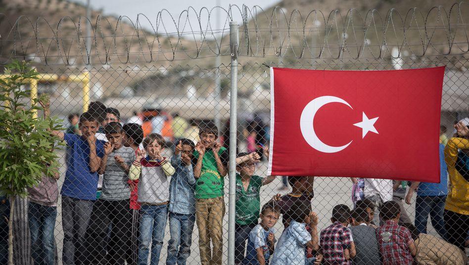 Flüchtlingskinder in der Türkei