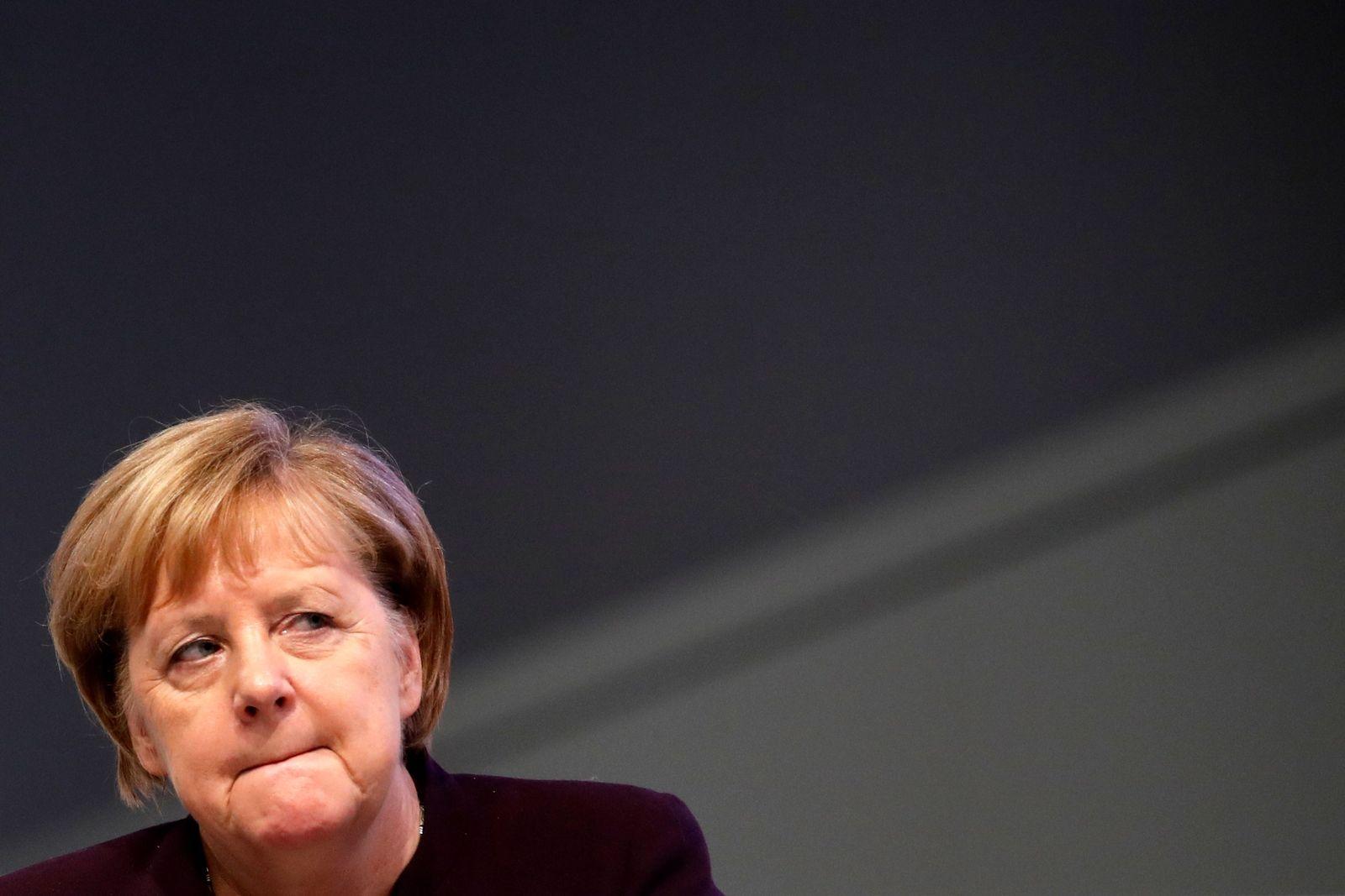 Angela Merkel Parteitag CDU Leipzig