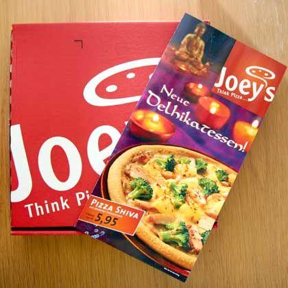 """Pizza Shiva des Bringdienstes """"Joey's"""": """"Dann geht der Schuss nach hinten los"""""""