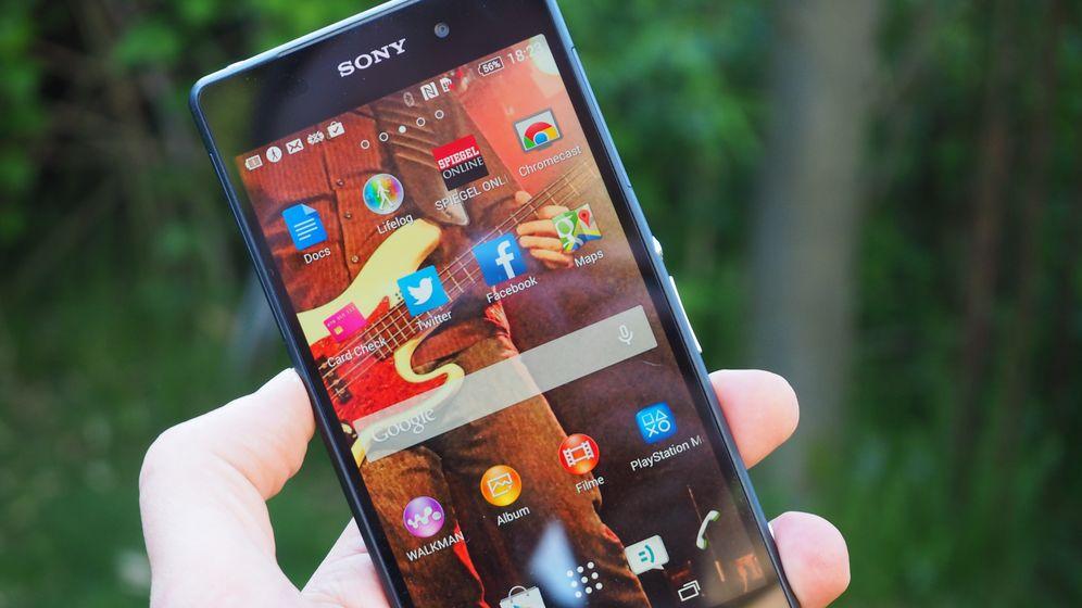 Sony Xperia Z2 im Test: Das Handy mit dem rollenden Ladegerät