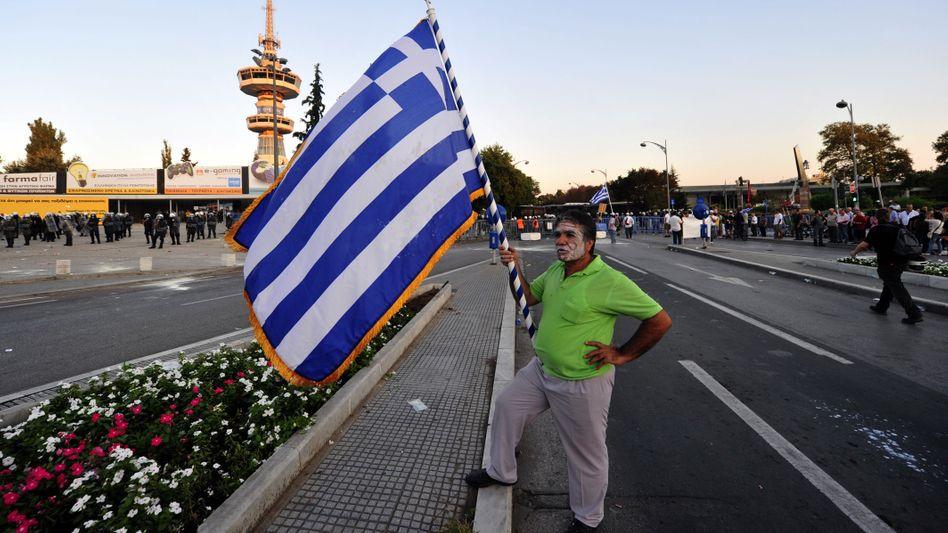 Proteste in Griechenland: Die Sparpläne der Regierung stoßen auf Widerstand