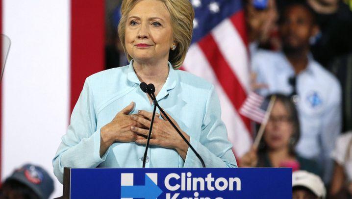 Demokraten vor Wahlparteitag: Clintons Krönungsmesse