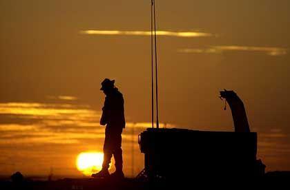 Sonnenuntergang bei Kandahar