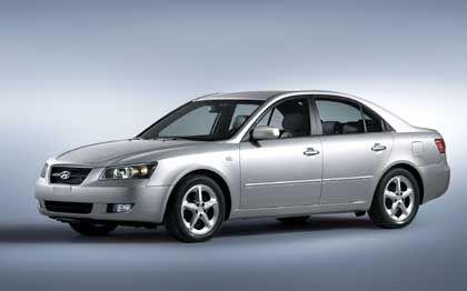 Hyundai Sonata: Prozente-Gewinner 2004 sind eindeutig die Koreaner