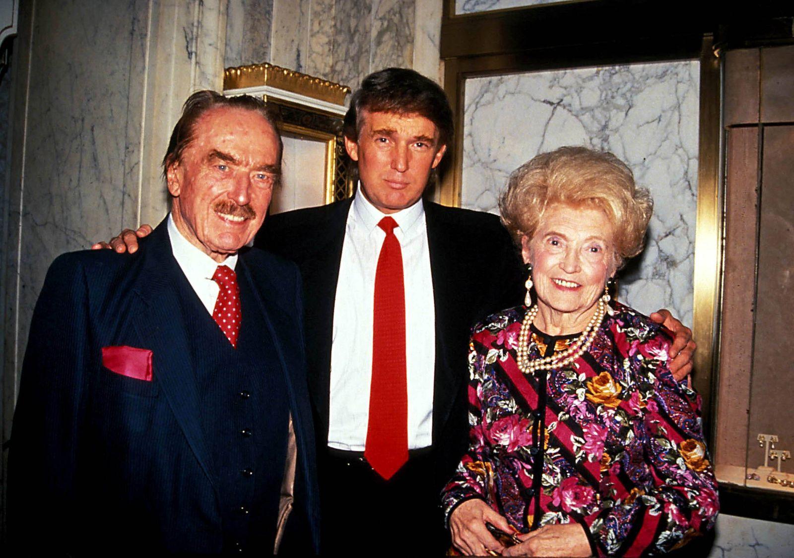 EINMALIGE VERWENDUNG Trump/ Familie