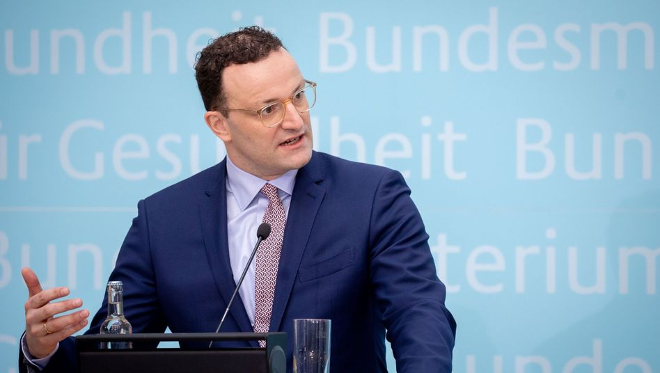 Jens Spahn (CDU) im April in Berlin