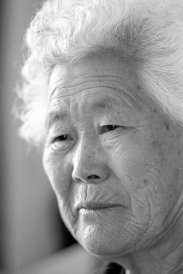 Lee Okseon ist 91 Jahre alt und eines der letzten lebenden Opfer.