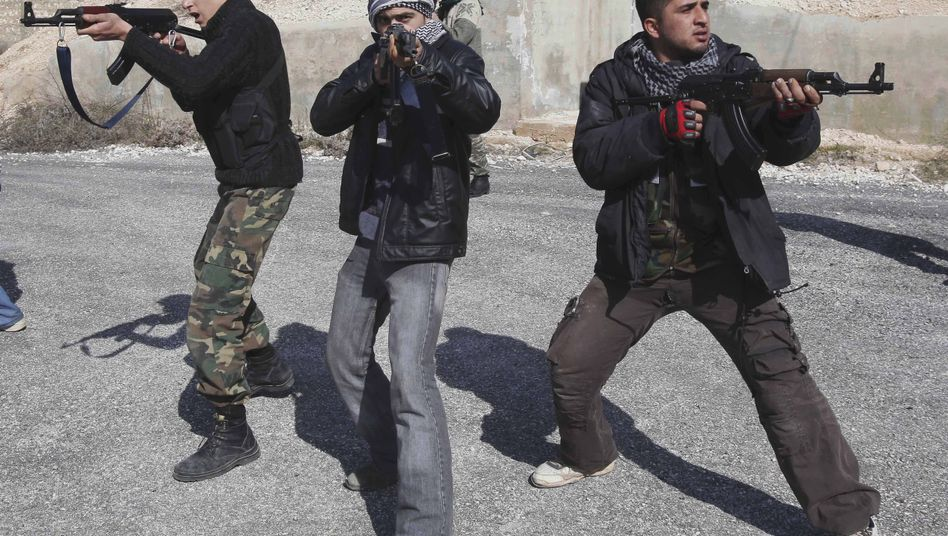 Syrian rebels train outside of Idlib. How significant is the danger of infiltration?