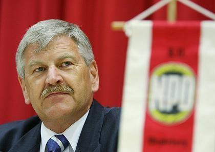 NPD-Chef Voigt: In wirre Machtkämpfe verstrickt
