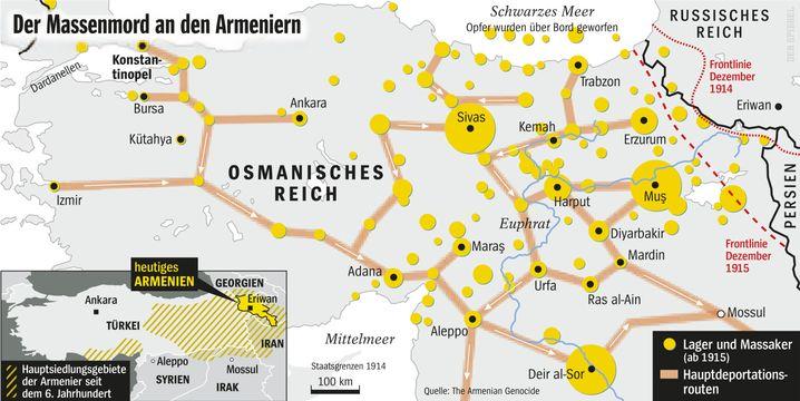 Volkermord An Den Armeniern Geschichte Des Grauens Der Spiegel