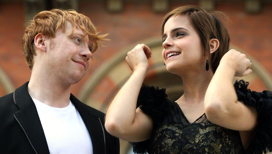 Zweifelhaftes Glück: Im Film enden Rupert Grint und Emma Watson als Paar