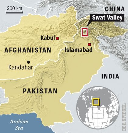Map: The Swat Valley