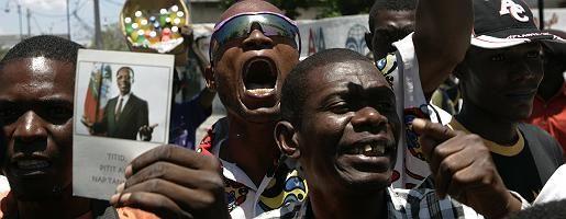 """Hungerprotest auf Haiti: Ein """"Monster"""" auf der Weltbühne"""