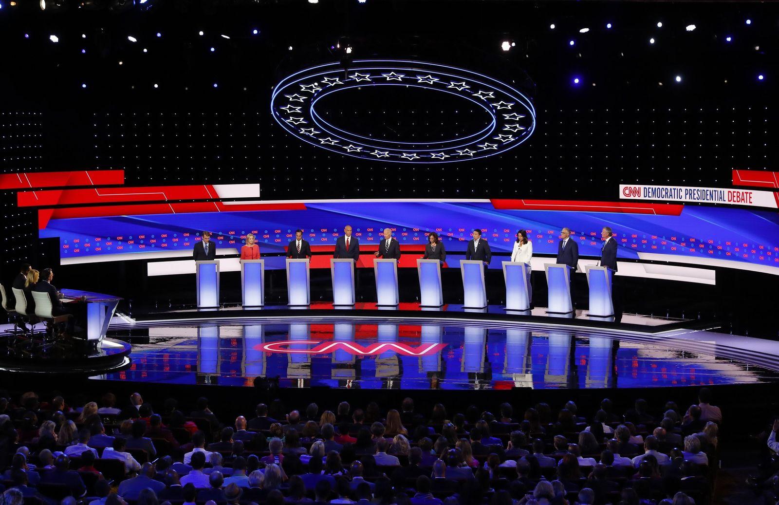 Demokraten Debatte Detroit Biden