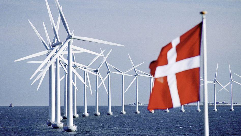 Offshore-Windpark Middelgrunden bei Kopenhagen: Weithin sichtbares Zeichen für den Erfolg der dänischen Wind-Demokratie