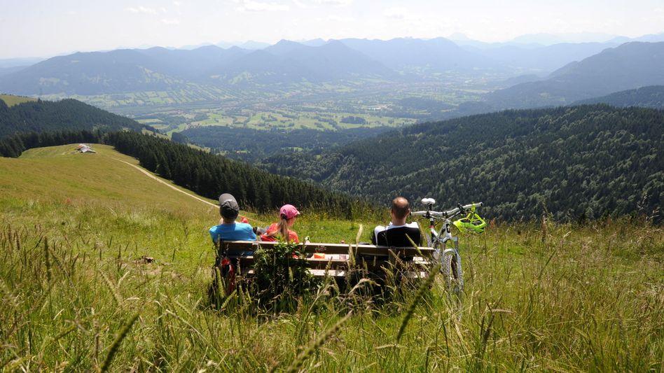 Bergpanorama in Bayern: Nur drei Bundesländer schreiben schwarze Zahlen