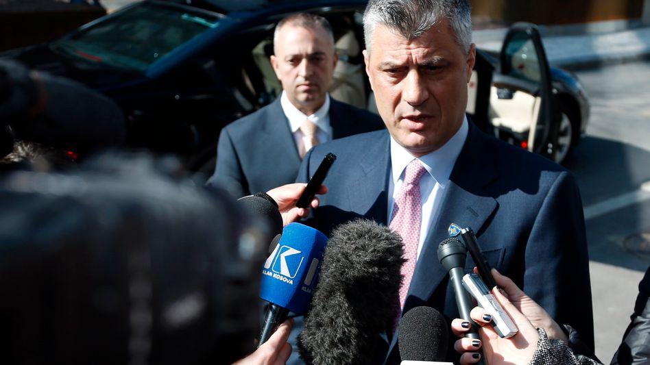 Kosovarischer Premier Hashim Thaci: Keine Einigung mit Serbien