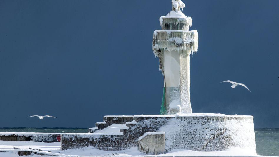Leuchtturm auf Rügen: Ein »Hotspot« im Winter?