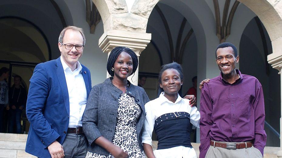 Kenianische Lehramtsstudenten in Münster: Eine tolle Erfahrung