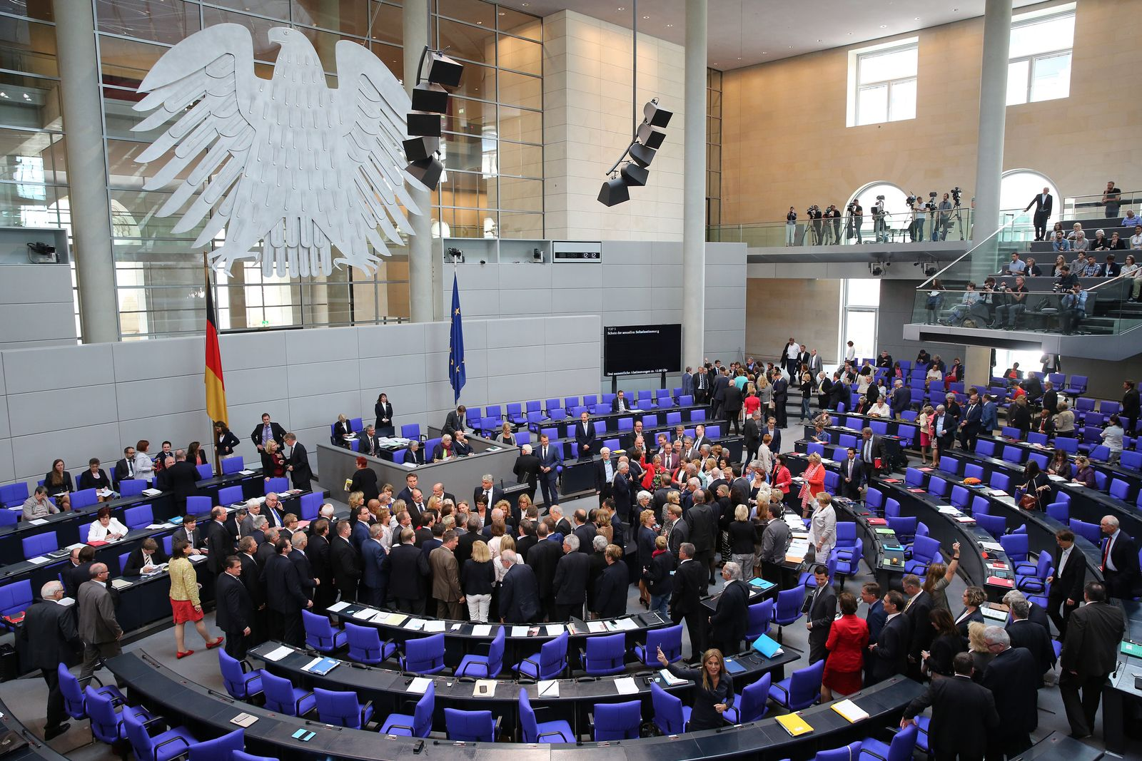 Bundestag Sexualstrafrecht