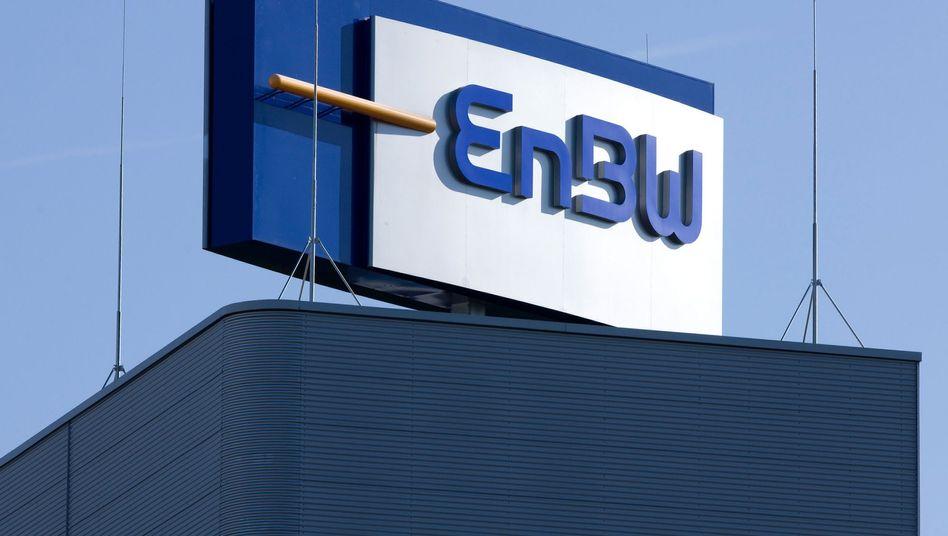 EnBW-Zentrale in Karlsruhe: Das Land hatte 45 Prozent am Konzern erworben