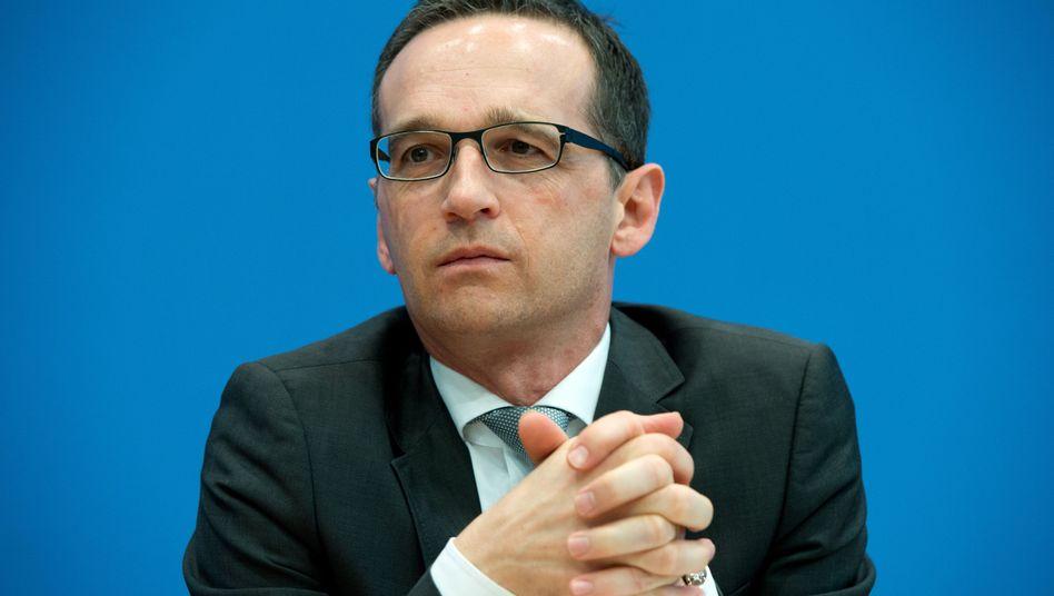 Justizminister Heiko Maas: Die Vorratsdatenspeicherung ist noch immer Thema innerhalb der Koalition