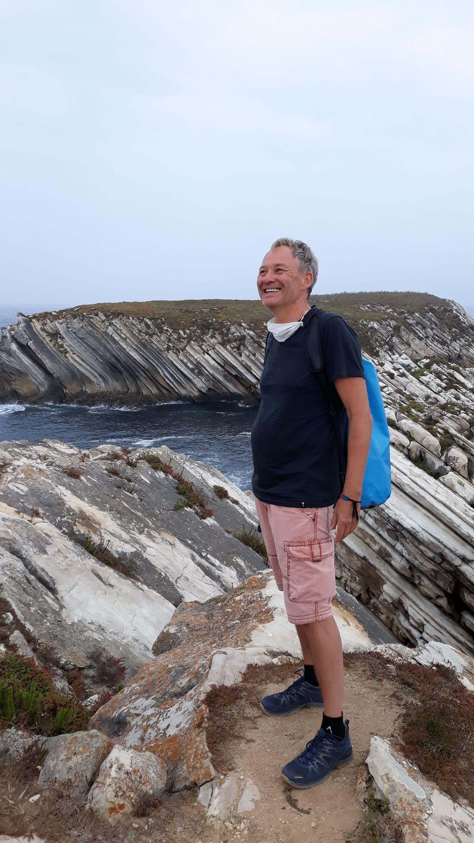 Bei den Klippen von Baleal, Portugal