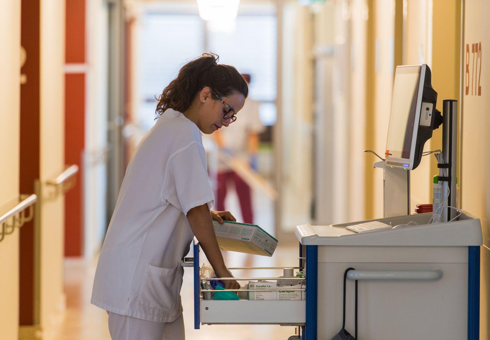 Ausländische Pflegekräfte im Krankenhaus