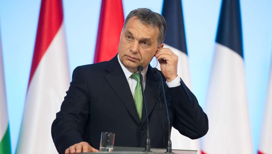 Ungarischer Premier Viktor Orbán: EU besorgt über Machtkonzentration