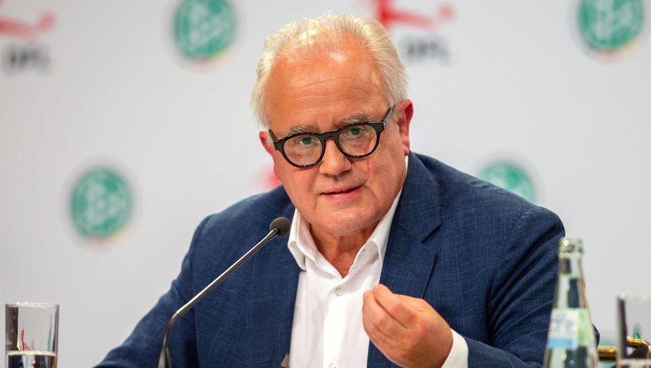 Der neue DFB-Präsident Fritz Keller