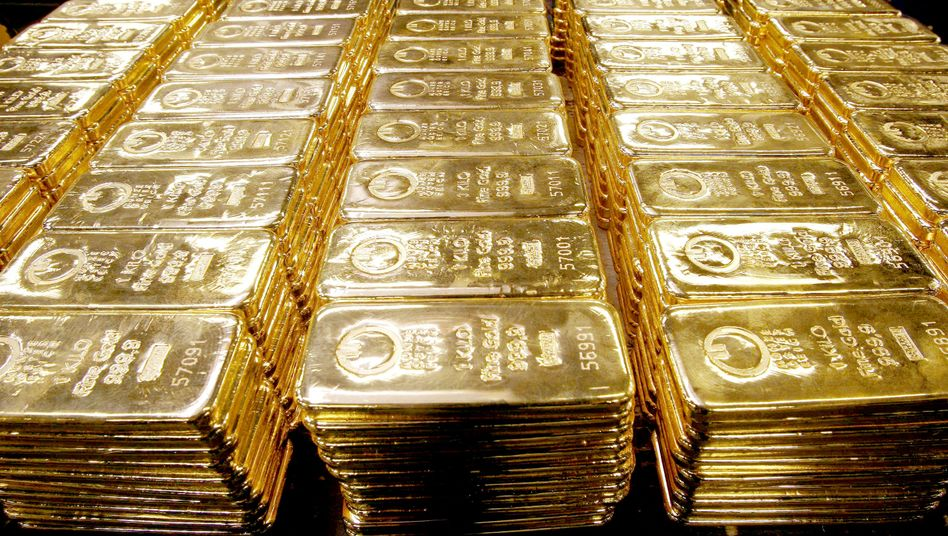 Gold is in high demand as inflation concerns mount.