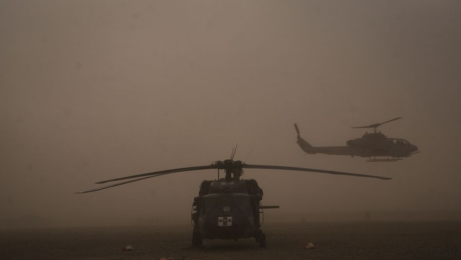 US-Hubschrauber in Afghanistan: Abzug bis 2014 geplant