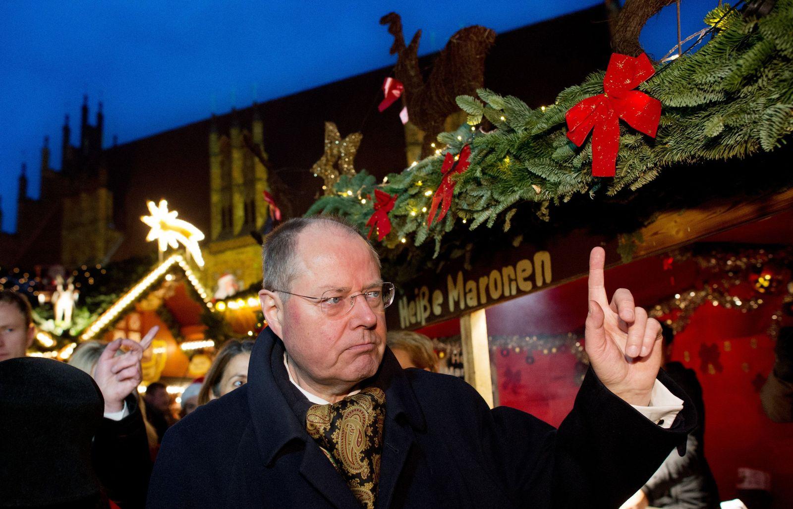 Steinbrück Weihnachtsmarkt Hannover