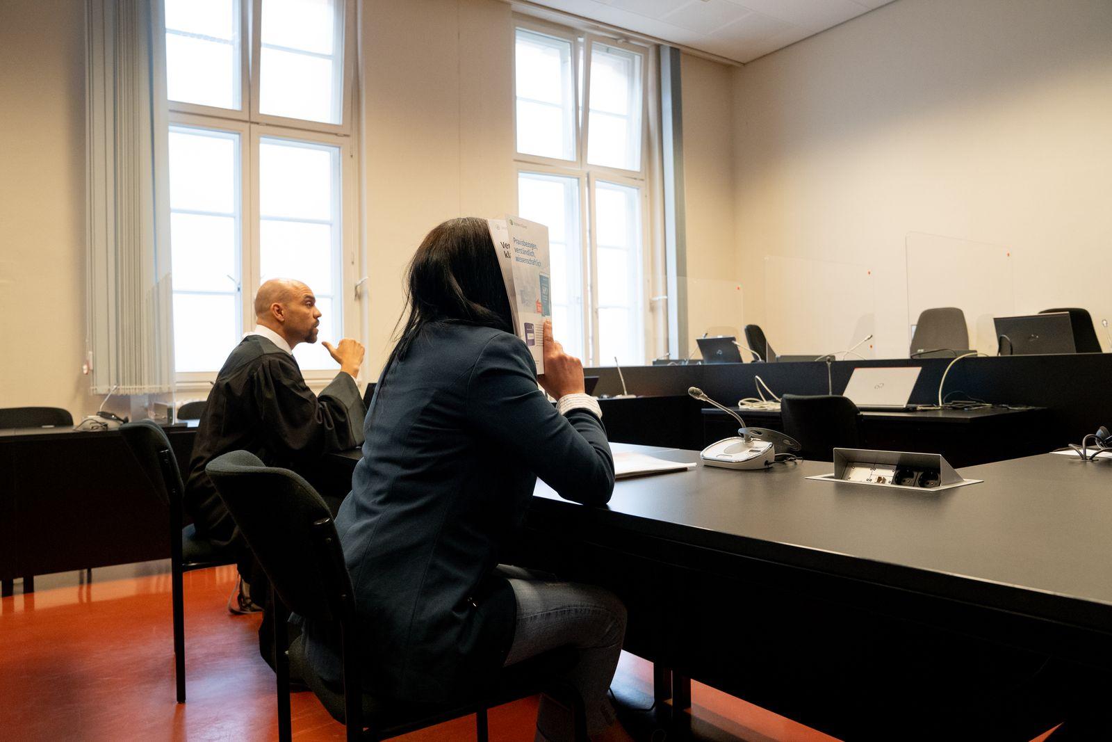 Trial Of Denis Cuspert Widow And Islamic State Member Begins In Hamburg