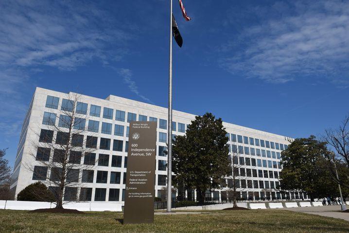 Sitz der Flugaufsichtsbehörde FAA in Washington